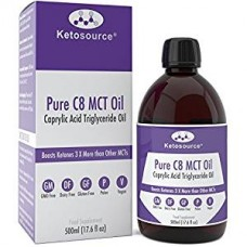 Premium C8 MCT Oil Boosts Ketones 3X Highest Purity 99.8%