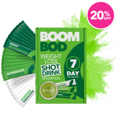 7 Day Boombod Weight Loss Sachets - 20% Off Lemon Lime
