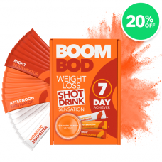Boombod 7 Day Achiever Orange Mango - 20% Off Weight Loss Sachets