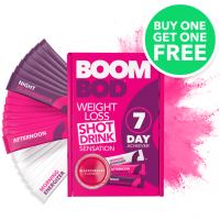 Boombod 7 Day Achiever Shots - 50% Off Buy 1 Get 1 Free