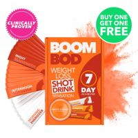 Boombod Offers - 7 Day Achiever Orange Mango Buy 1 Get 1 Free