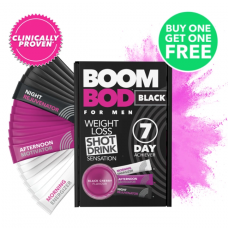 Boombod Mens 7 Day Weight Loss Shots - 50% Off Discount Black Cherry